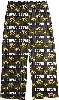 Iowa Hawkeyes Men's Scatter Pattern Pajama Lounge Multi Color Pants