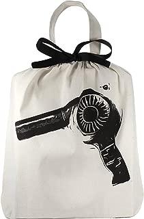 Bag-all Unisex Bag-all Organizing bag Hair dryer, Black & White, One Size