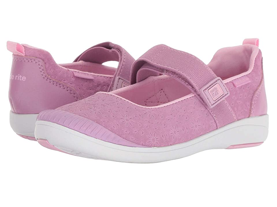 Stride Rite M2P Lia (Little Kid) (Purple Leather) Girls Shoes