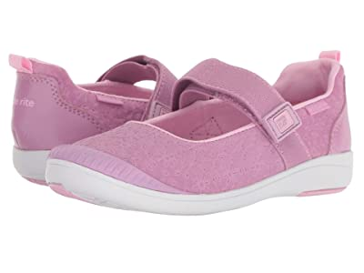 Stride Rite M2P Lia (Little Kid) (Purple Leather) Girls Shoes