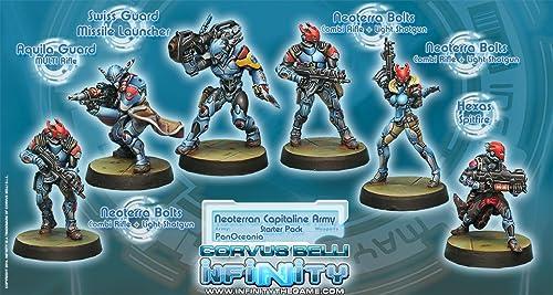 Panoceania Neoterran Capitaline Army Miniature Corvus Belli by Corvus Belli