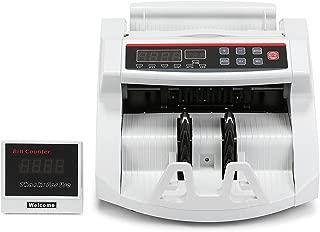 Autocompra Contador de Billetes Euro Automático Detector de Billetes con Sistema UV /MG con Pantalla LED 1000 Billetes por Minuto