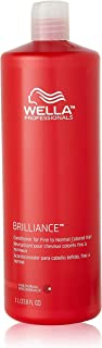 Wella Brilliance Conditioner for Fine To Normal Hair for Unisex, 33.8 Ounce by Wella