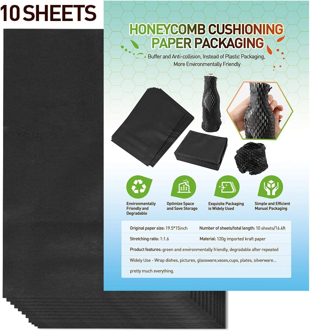 Honeycomb Cushioning Paper 10 to Sheets Challenge the lowest price of Japan Max 88% OFF Eco-friendly Alternative