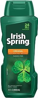 Irish Spring Original Moisturizing Face + Body Wash for Men, 532 mL (2 Pack) ( Packaging May Vary )