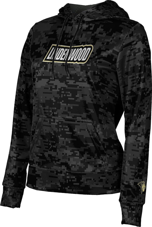 ProSphere Lindenwood University Girls' Pullover Hoodie, School Spirit Sweatshirt (Digi Camo)