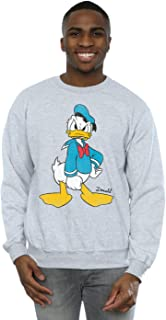 Disney Men's Donald Duck Angry Sweatshirt