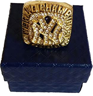 YIYICOOL NY 2000 Yankees Championship Ring Size 10.5 with Carton