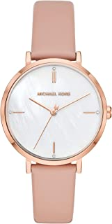 Women's Jayne Three-Hand Rose Gold-Tone Alloy Watch MK7106