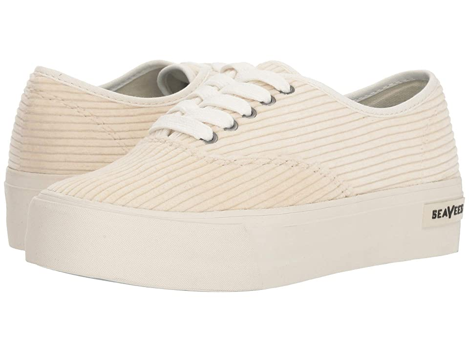 SeaVees Legend Sneaker Platform (Ecru) Women