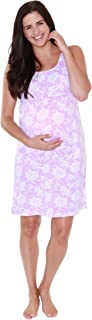 Baby Be Mine 2 in 1 Maternity Nursing Nightgown Nightdress Hospital Bag Must Have, Pregnancy Breastfeeding