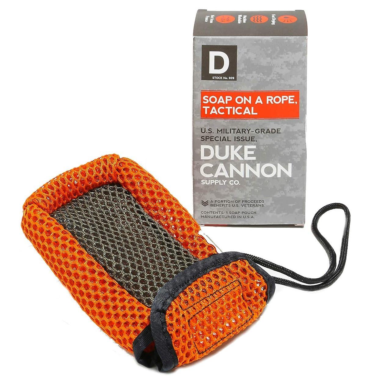 唯物論以降最初はDuke Cannon ロープのポーチには戦術的なソープ