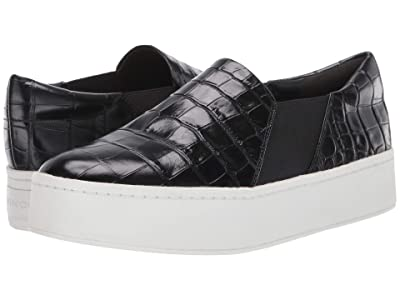 Vince Warren (Black Croc Embossed Leather) Women
