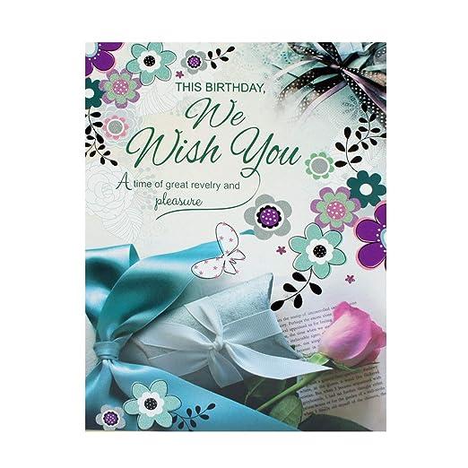 GIFTICS Happy Birthday Greeting Card