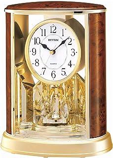 Rhythm 4Sg724Ws06 Contemporary Motion Clock, Brown