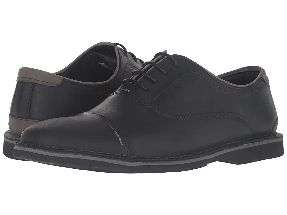 Steve Madden Lernerr (Black Leather) Men