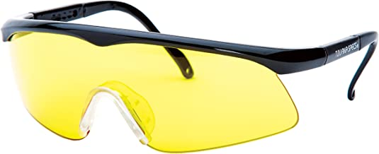 Unique Sports Unisex-Adult Unique Sports TS-A Tourna Specs Amber Protective Eyewear TS-A, Amber Yellow, Rx Adapter