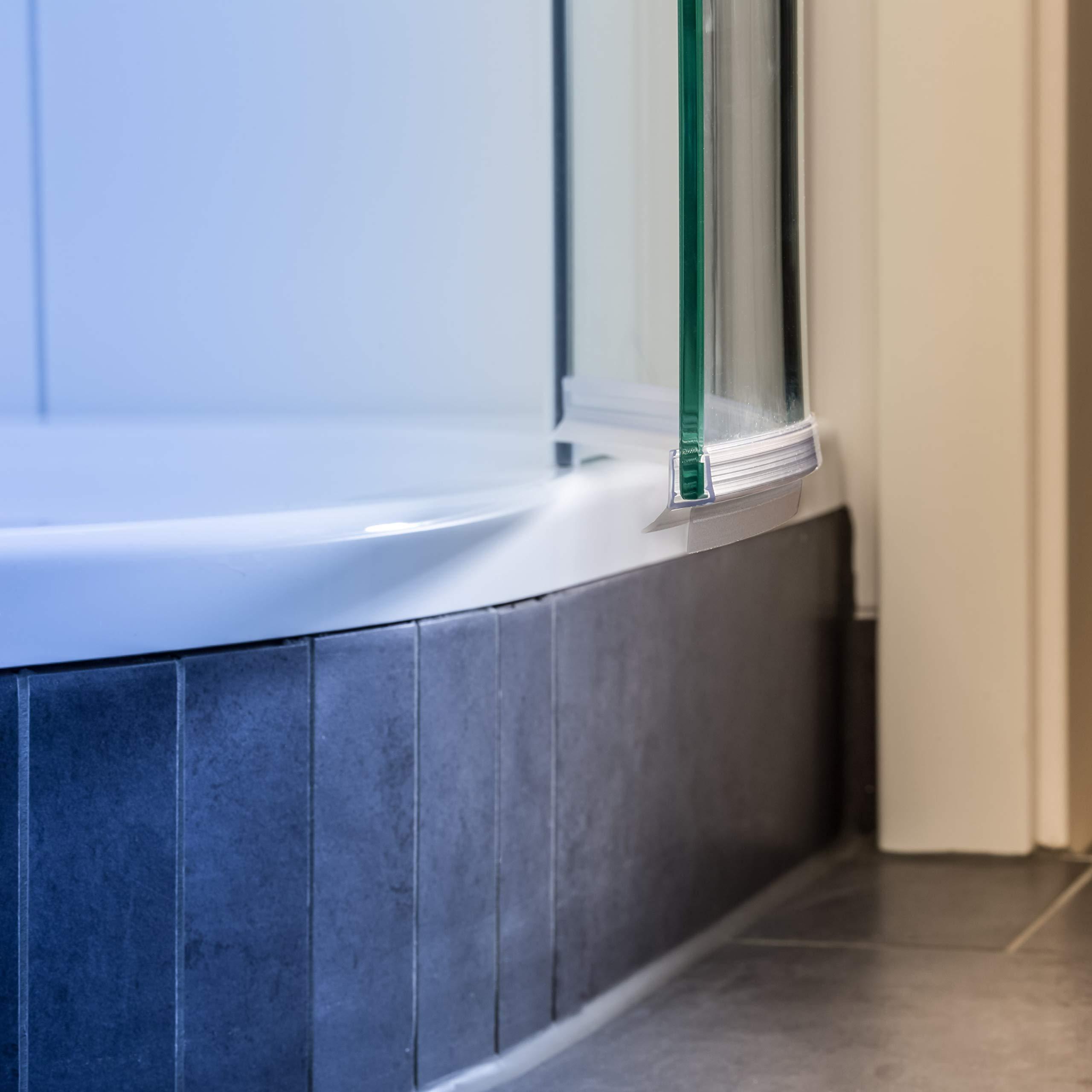 100 cm Junta, redonda ducha y ducha, ducha cabina, redondo Junta, vasos, Repuestos curvada y ducha,, resistente al, cuarto círculo ducha de labios, semicircular, 6 mm, 7 mm, 8 mm: Amazon.es: Bricolaje y herramientas