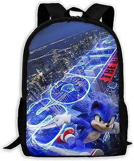 Sonic The Hedgehog2 Youth Backpack Shoulder Bag Travel Bags Laptop Bag School Bag For Boys Girls