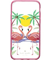 Kate Spade New York - Jeweled Flamingos Phone Case for iPhone® X