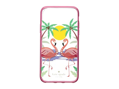 Kate Spade New York Jeweled Flamingos Phone Case for iPhone® X