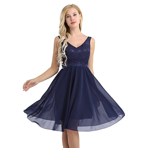 Bridesmaid Dresses Navy Blue Amazon Co Uk