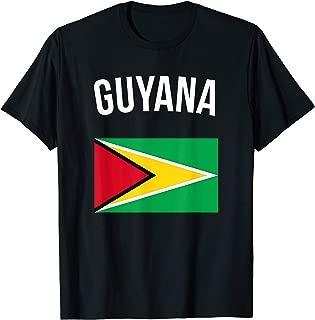Guyana T-shirt Flag Tee Pride Vacation Travel Souvenir