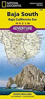 Baja South: Baja California Sur [Mexico] (National Geographic Adventure Map)