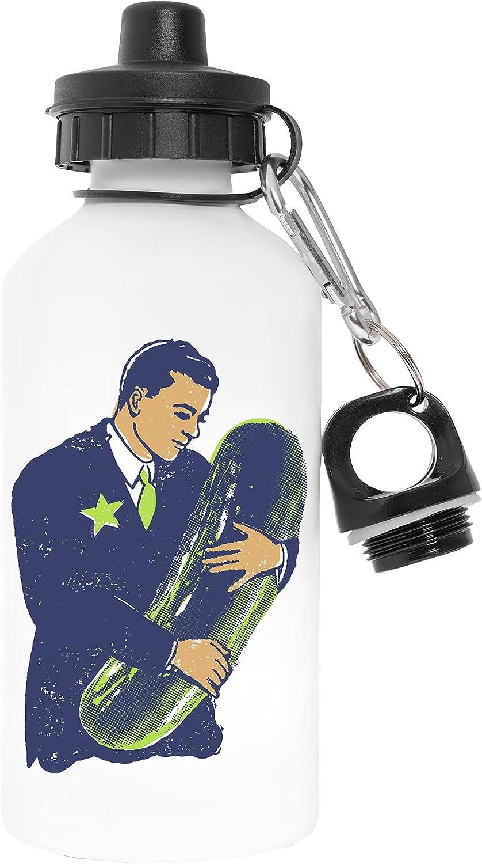 Sostener Los Conservar En Vinagre - Americano Rarezas Libre de Contaminantes Blanco Botella De Agua Aluminio Para Exteriores Pollutant Free White Water Bottle Aluminium For Outdoors