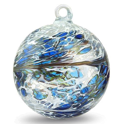 Christmas Ornaments Hand Blown Glass Amazon Com