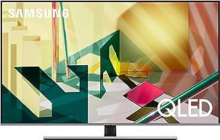 تليفزيون سمارت كيو ال اي دي 65 بوصة 4K الترا اتش دي مع ريسيفر مدمج من سامسونج QA65Q70TAUXEG - اسود وفضي اكليبس