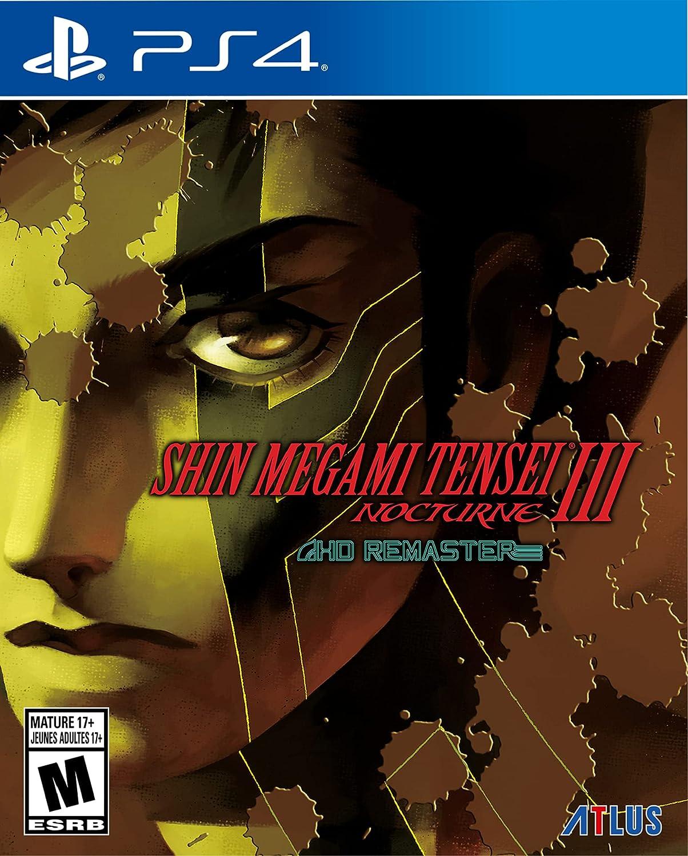 Poster. Shin Megami Tensei III Nocturne HD Remaster