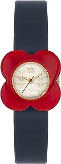 Orla Kiely damski analogowy zegarek kwarcowy ze skórzanym paskiem – OK2062