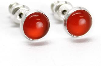 Earring For Women Brass Earring GFS3131 Gift For Her Carnelian Stone Earring Gift For Women Gemstone Earring Earring For Her