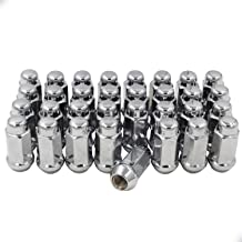 no washers,60 degree conical seat other 12 x 1.5m chrome lug nuts 10 E.T Mag