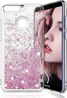 7482e0249b6 MASCHERI Funda para Huawei Honor 7A / Y6 2018 / Enjoy 8E, Brillante Bling  Glitter