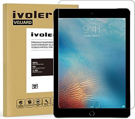 iVoler Verre Trempé pour iPad 9.7 Pouces 2018 / iPad 9.7 Pouces 2017 / iPad Pro 9.7 Pouces 2016 / iPad Air/iPad Air 2 (iPad 5 & 6), Film Protection en Verre trempé écran Protecteur Vitre