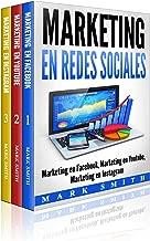 Marketing en Redes Sociales : Marketing en Facebook, Marketing en Youtube, Marketing en Instagram (Libro en Español/Social Media Marketing Book Spanish Version) (Spanish Edition)