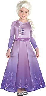 Party City Elsa Act 1 Halloween Costume for Girls, Frozen 2, Includes Dress