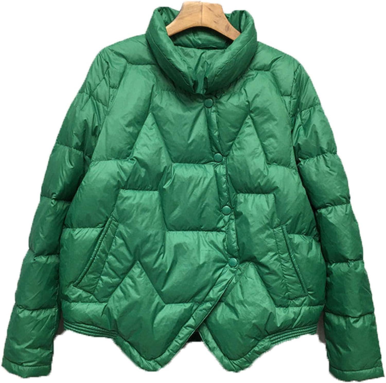 Girl's Lightweight Puffer Jacket Stand Collar Packable Winter Coat