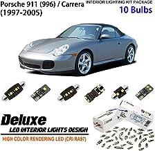 ZIYO ZPL8960 - (10 Bulbs) Deluxe LED Interior Light Kit 6000K Xenon White Dome Light Bulbs Replacement Upgrade for 1997-20...