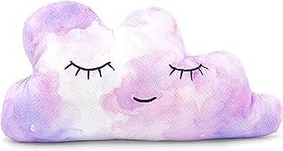 Girls Cloud Pillow | Cute Cloud Nursery and Room Décor - Create The Perfect Rainbow, Unicorn, or Sky Themed Dreamscape