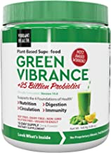 Vibrant Health, Green Vibrance, Plant-Based Superfood Powder, Vegan Friendly, 15 Servings (FFP)