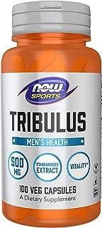 NOW Sports Nutrition, Tribulus (Tribulus terrestris) 500 mg, Enhanced Vitality*, 100 Veg Capsules