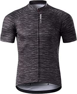 RION Men's Cycling Jersey Breathable Bike Shirt Short...