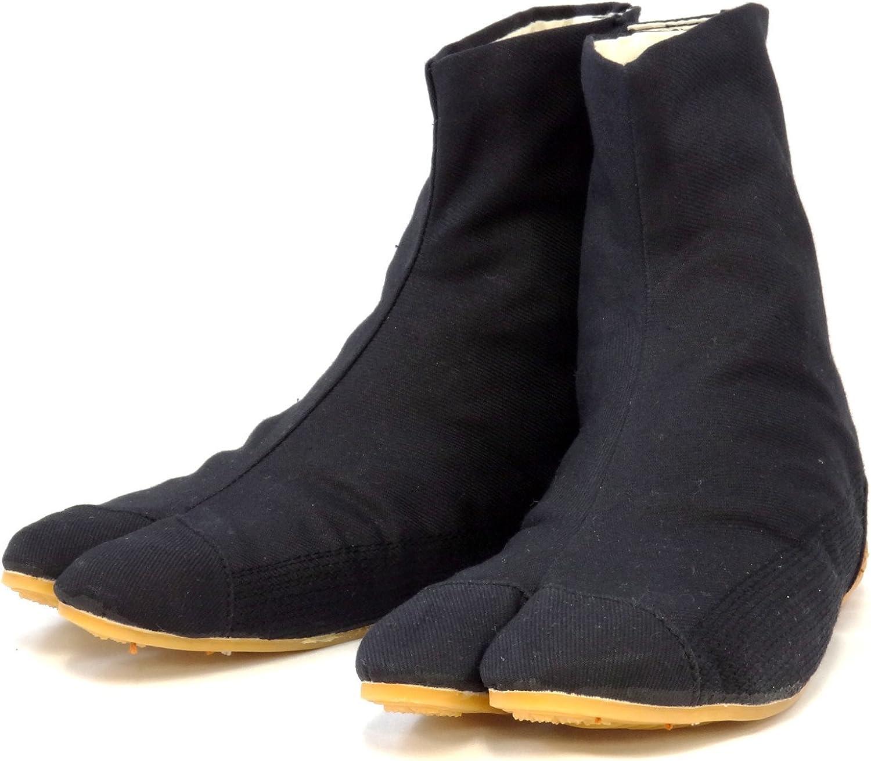 Ninja Tabi shoes Low Top Comfort-Cushioned   Black Rikio JikaTabi (JP 30cm ap...
