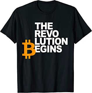 Bitcoin Revolution - Hodl Crypto Currency BTC Apparel Gift T-Shirt