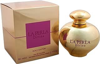 La Perla Divina Gold Edition Women's Eau de Toilette Spray, 2.7 Ounce