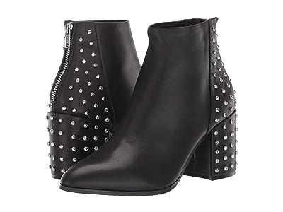 Steve Madden Jillian-S Bootie (Black Leather) Women