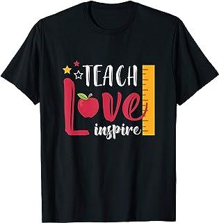 Teach Love Inspire - Best Teacher Teaching Gift T-Shirt